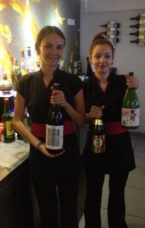 Benzai Sushi Bar: Sake