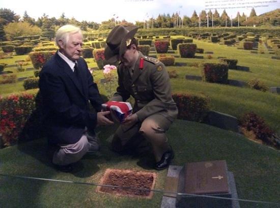 The War Memorial of Korea : australian war graves
