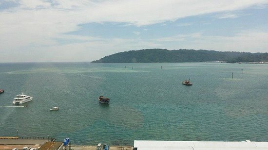 Le Meridien Kota Kinabalu: View from room