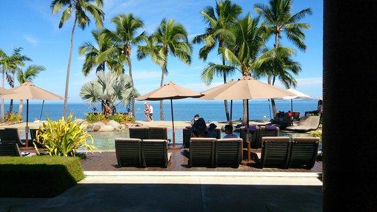 Sheraton Fiji Resort: View from dining area