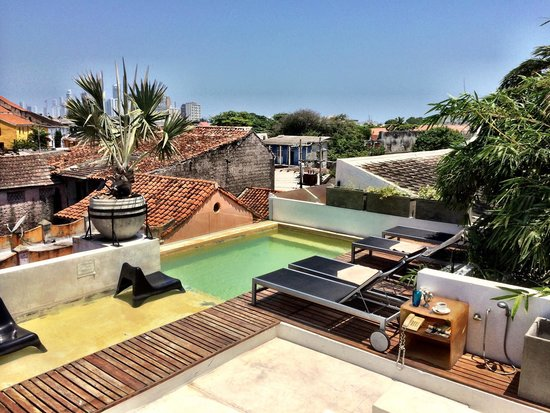 Hotel Casa Lola: Perfect roof pool 1