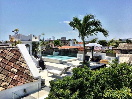 Hotel Casa Lola : Perfect roof pool 2