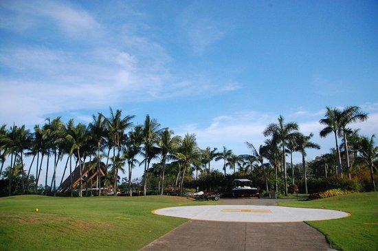 Shangri-La's Mactan Resort & Spa: Bringing your chopper?