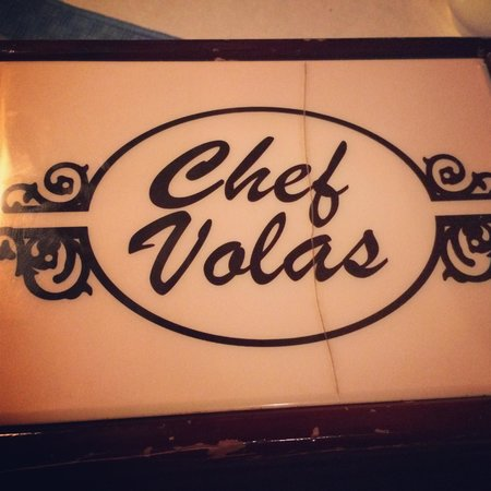 Chef Vola's : Music box with the check inside