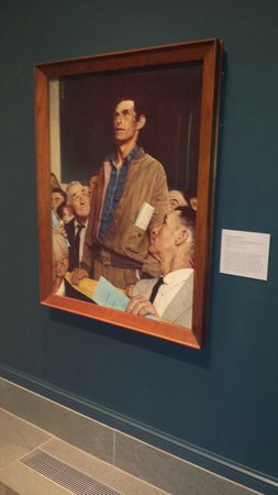 Norman Rockwell Museum: Freedom of Speech