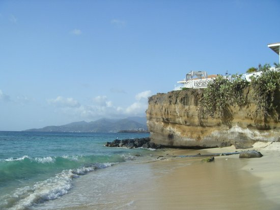 Grenadian by Rex Resorts : One of the two beach  areas