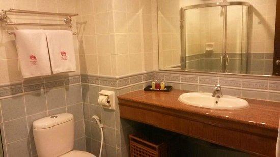 Heritage Hotel : No tub