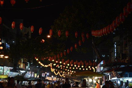 Evening on Jalan Alor