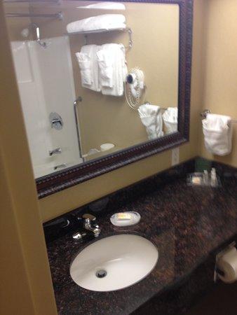 Holiday Inn Downtown Everett : room pic