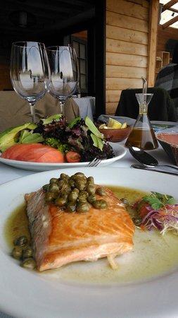 Restaurant Casavaldes: Maravilloso salmón