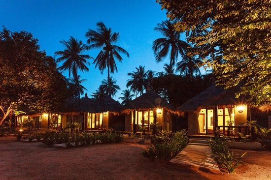 Night View Picture Of Secret Garden Village Koh Tao Tripadvisor