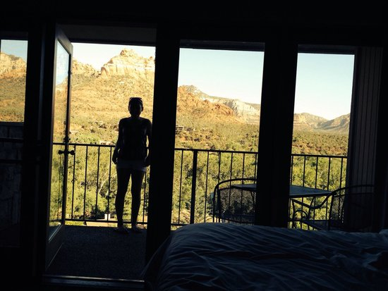 The Orchards Inn of Sedona: View from the room