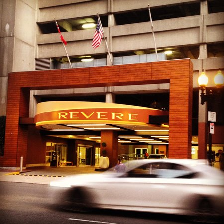 Revere Hotel Boston Common: Front facade