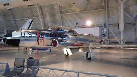 Smithsonian National Air and Space Museum Steven F. Udvar-Hazy Center : Lockheed T-33A Shooting Star