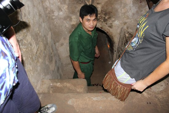 Ho Chi Minh City Urban Adventures: the entrance into the cu chi tunnel