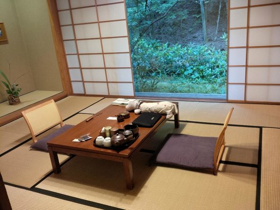 Sitting area / Japanese-style bedroom. - Picture of Shiibasanso ...