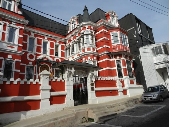 Palacio Astoreca Hotel: Fachada y acceso principal
