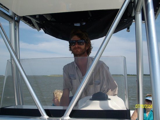 Charleston Outdoor Adventures: Our AWESOME Captain Tripp