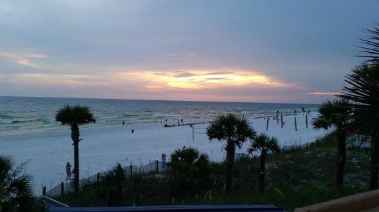 Spinnaker Beach Club: view from restaurant