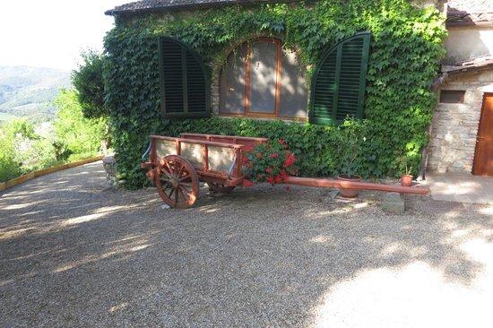 Villa Le Barone: Restaurant