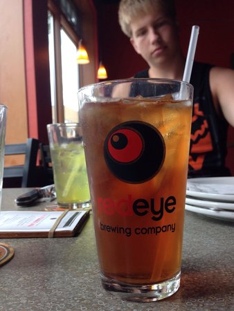 Red Eye Brewing Company: I didn't try the beers, but the ice tea was good!