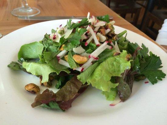 Lumiere: salad