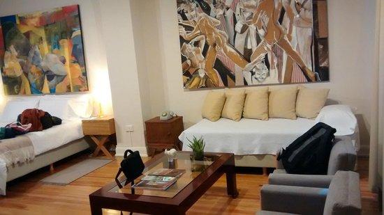 Sacha Mistol Art Hotel: Decoração de bom gosto