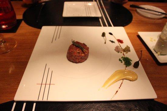 Tree Tops : steak tartare