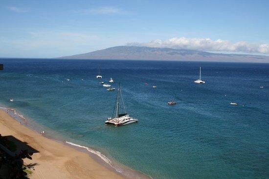 Aston at The Whaler on Kaanapali Beach: Southwest, looking toward Lanai
