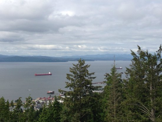 Columbia River from top of Astoria Column