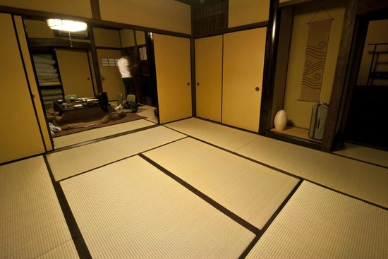Ryokan Sanga: The room we stayed in, Ho-no-ki