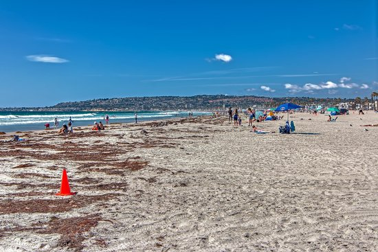 Mission Beach: Strand Szene