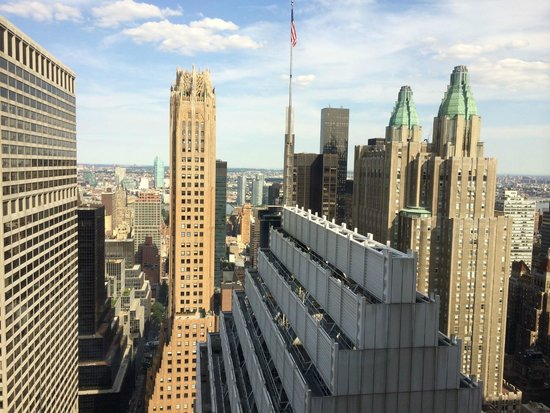 The Towers at Lotte New York Palace: View from 50th floor Towers at New York Palace Hotel