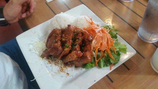 Da Kitchen Kahului: Teriyaki Chicken Plate