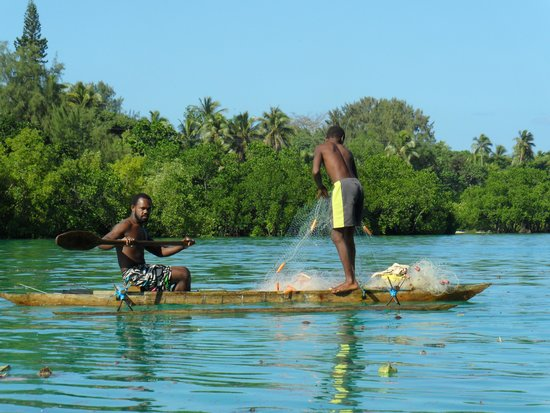 Troppo Mystique: A dad and son fishing on the lagoon