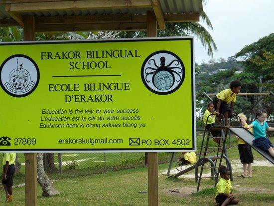 Troppo Mystique: Erakor School visit