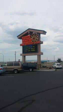 Pioneer Crossing - Chuckwagon Cafe: Fernly casino