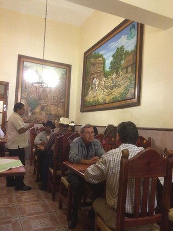Rincon Maya: Comedor