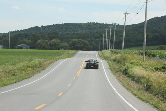 Country Driving Tours of Vermont: Country roads!