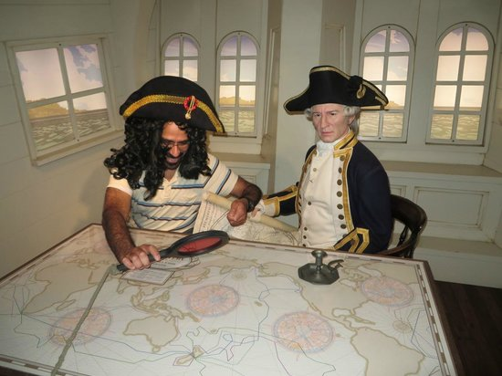 Madame Tussauds Sydney: great props