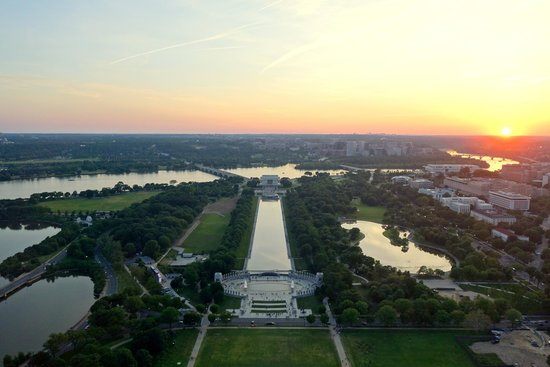 Washington Monument: View from the top during the day