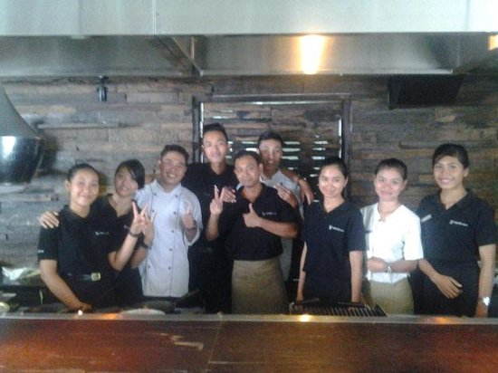 Akmani Legian: The Breakfast Buffet Team