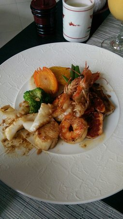Azabu Restaurant: Seafood Teppanyaki