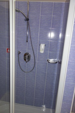 Best Western Plus Hotel Bologna: Shower.