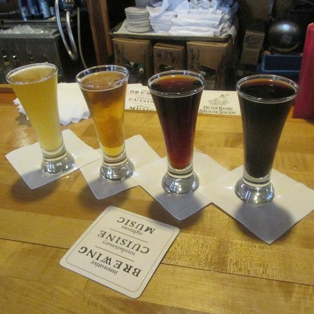 Outer Banks Brewing Station: Samples