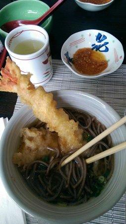 Azabu Restaurant: Tempura Soba, my favorite