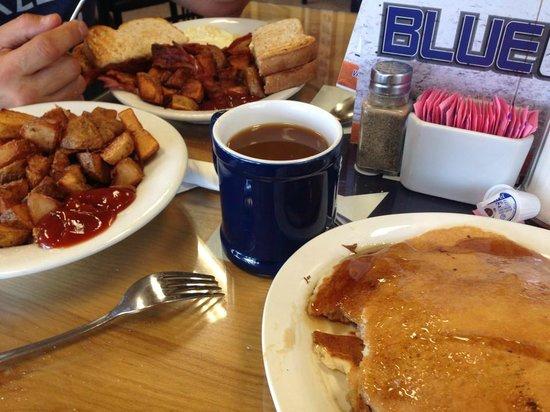 The Blue Line: breakfast