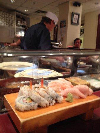 Oka Sushi: Jasper rolls, ama-ebi, and toro