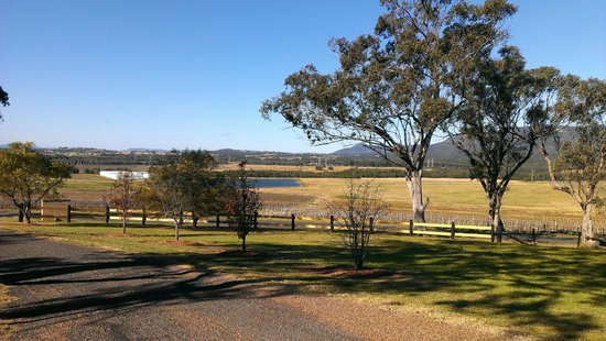 Berenbell Vineyard Retreat: View from the top of the driveway #2