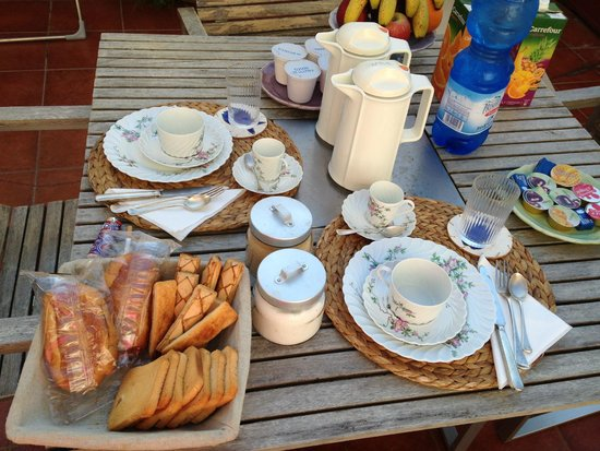 Bed and Breakfast Via dei Mille: collationi <3